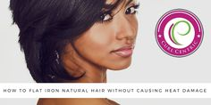 Learning how to flat iron natural hair without causing heat damage is a desire of many naturals. Let's walk through the process step-by-step (with video).