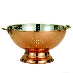 Old Dutch Decor Copper Colander - Overstock™ Shopping - Great Deals on Old Dutch Bowls & Colanders