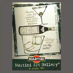 Art MARTINI Dry ART GALLERY Andy Warhol SERI-GRAFICA RIVETTI