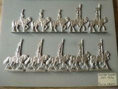 20-PLATS-D-ETAIN-BRUT-FIGURINES-SEGOM-LANCIERS-POLONAIS-1811-1814