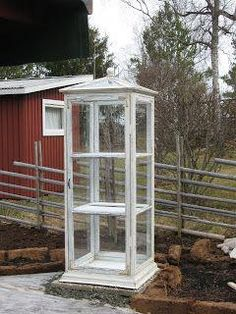 Consider these great greenhouse ideas. Add landscaping around your greenhouse structure so it's incorporated into your yard design. ** Know this favorable article by going to the link at the image. Garden Crafts, Garden Projects, Garden Art, Garden Design, Mini Greenhouse, Greenhouse Gardening, Greenhouse Ideas, Indoor Garden, Outdoor Gardens