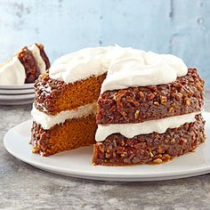 Pumpkin-Praline Layer Cake