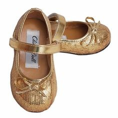 China -China Doll Gold Sparkle Ballerina Shoe- Find|Buy|Shop|Compare|LollipopMoon.com only $9.99 - Baby & Kids Shoes