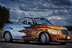 High noon flame out blue flame car wrap, high noon flame out custom paint jobs, vehicle and cars. Car Paint Jobs, Custom Paint Jobs, My Dream Car, Dream Cars, Vinyl Wrap Colors, Pimped Out Cars, Bespoke Cars, Car Lettering, National Car