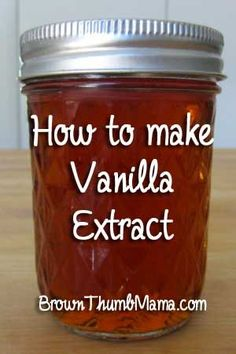 to Make Vanilla Extract Whoa! I did the math and this is cheaper than storebought vanilla. I'm never buying vanilla extract again! I did the math and this is cheaper than storebought vanilla. I'm never buying vanilla extract again! Real Food Recipes, Yummy Food, Salsa Dulce, Homemade Vanilla Extract, Do It Yourself Home, Canning Recipes, Baking Tips, Diy Food, Food Hacks