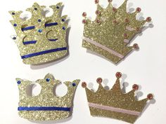 Prince or princess gender reveal pins gender by BusyBBoutique87