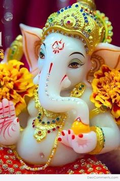 Free Cute Ganesh wallpaper for your computer desktop and high-resolution with Cute lord Ganesha wallpapers, pictures, photos, pics and images. Ganesh Wallpaper, Spiritual Wallpaper, Ganesh Ji Images, Ganesha Pictures, Ganesh Lord, Sri Ganesh, Baby Ganesha, Ganesha Art, Ganesh Idol