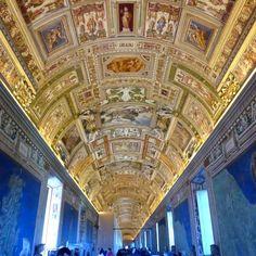 Vatican Hallway Ceiling