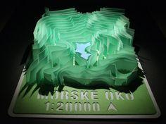 Lake Morské Oko 3D Paper Model