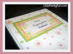 pinterest home preschool organization   Home Organization Notebook/Binder. Get organized at home!   Family