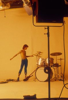 David Bowie from The Jean Genie video 70s.