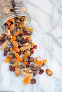 A Clean Bake: The Best Road Trip Trail Mix