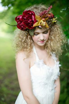 Read More: http://stylemepretty.com/2013/10/23/maypole-inspiration-from-gertie-maes-floral-studio-paperlily-photography/