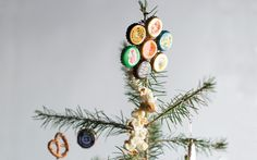 How To: Bottle-Cap Christmas Tree Ornaments