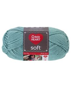 Soft Yarn -- Red Hea