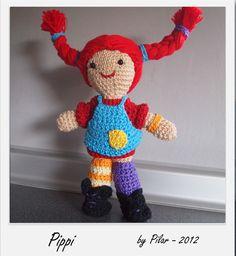 Pippi #amigurumis