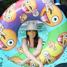 Emoji Inflatable Pool Float
