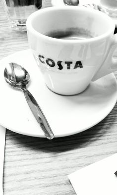 Costa Coffee, Winchester. I LOVE Costa so much, I really wish we had them here in Canada.