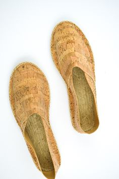 DIY Espadrilles aus Kork / cork shoes