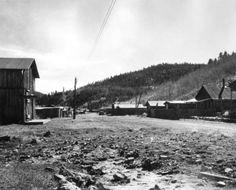 Bonanza Colorado looking south of town 1942.