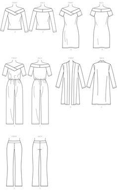 B6495   Butterick Patterns   Sewing Patterns