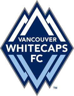 Vancouver Whitecaps FC Primary Logo on Chris Creamer's Sports Logos Page - SportsLogos. A virtual museum of sports logos, uniforms and historical items. Vancouver Whitecaps Fc, Vancouver Canucks, Mls Soccer, Soccer Logo, Soccer Shirts, San Jose, Canada Soccer, Embroidery Designs, Houston Dynamo