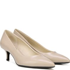 Satin Pearl Detail May Jane Heeled Shoes - Nude satin True Decadence HCSwfUBYh