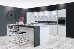 Grifflose Küchen | Küche griffloseVitra 2026 | Küche planen mit almaKÜCHEN