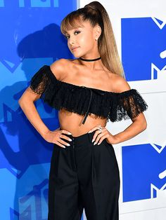 Ariana Grande Confirms Relationship with Mac Miller on MTV VMAs Red Carpet…