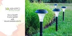 Give a facelift to your garden with garden lights solar products