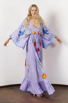 """Strange Magic"" Women's embroidered duster - Lavender Fillyboo - Boho inspired maternity clothes online, maternity dresses, maternity tops and maternity jeans. Maternity Clothes Online, Maternity Tops, Maternity Dresses, Maternity Jeans, Maxi Dresses, Plus Size Summer Dresses, Plus Dresses, Bohemia Dress, Boho Floral Dress"