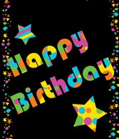 Hey, it's your Birthday today!  Happy Birthday!!  May it be a year of Blessings and Good Health to you.  Love you!!