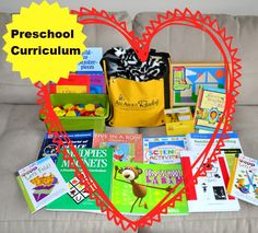 In Lieu of Preschool: A Round-Up of Preschool Curriculum, Books, Guides, and Resources for Homeschool or Supplementing at Home #preschool #homeschool #curriculum