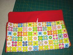 "There was a request for a ""how to"" for the diaper bag with changing mat that I had sewn so I decided to sew another and try to write a tutorial for it. However, since it is my first... please forgi..."