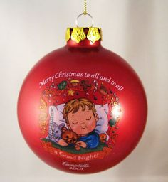 2001 Campbells Soup Campbell Kids Ornament