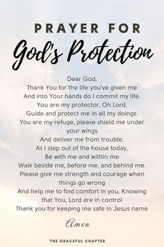 34 Bible Verses About Protection To Cheer You Up - The Graceful Chapter