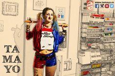 Ayer lo pasamos genial en el stand de #Tamayopapeleria en la feria #comikd en el #kursaal de #Donostia #SanSebastian Si no nos has visitado puedes hacerlo hoy Domingo. No tengas miedo nuestra Harley Quinn es encantadora... ( más fotos en nuestro http://ift.tt/1Obuw0N )