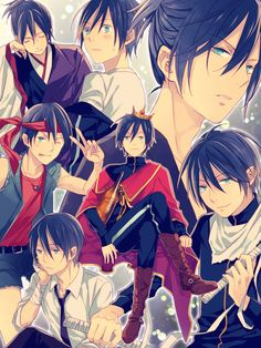 I luv the one with Yato with the cape and crown on his head XD LOL, Yato and his dreams!