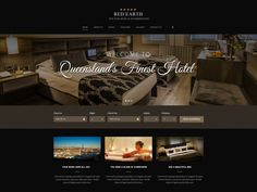 Image result for mockup hotel website design