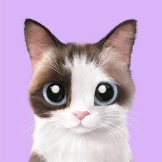 Cat Wallpaper, Animal Wallpaper, Animals And Pets, Cute Animals, Baby Animal Drawings, Kawaii Cat, Domestic Cat, Cat Drawing, Animal Memes