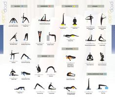 fitness—health—nutrition:  Lovely Yoga Prop Guide! From HERE  Props and poses!