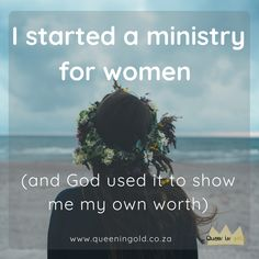 The story of Women of Worth ministry and how it impacted its chairperson, Bianca. Womens Worth, Show Me, Other Woman, Inspire Others, Ministry, Thats Not My, Teen, Faith, Christian
