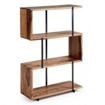 laforma-alia-boekenkast-bruin-hout-metaal-bruin-boekenkasten