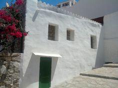 Casa blanca en Ibiza