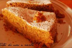 Torta noci e carote