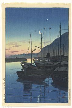 Ochtend in Beppu, Kawase Hasui, Watanabe Shôzaburô, 1928