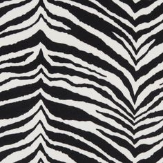 Zebra Print Upholstery Fabric