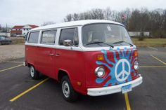1979 Volkswagon bus was very cool. We did not have peace sign on front.