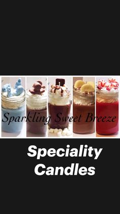 Candy Apples, Candy Corn, Banana Nut Bread, Peppermint Mocha, Mason Jar Candles, Witches Brew, Baking Ingredients, Marshmallow, Cookie Dough