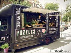 Ideas Food Truck Design Concept For 2019 Food Truck Festival, Food Truck Design, Food Design, Design Ideas, Mini Camper, Foodtrucks Ideas, Coffee Food Truck, Custom Food Trucks, Mobile Cafe